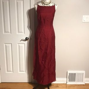 Casual Cocktail Formal Evening Silk Fit Flare NWT